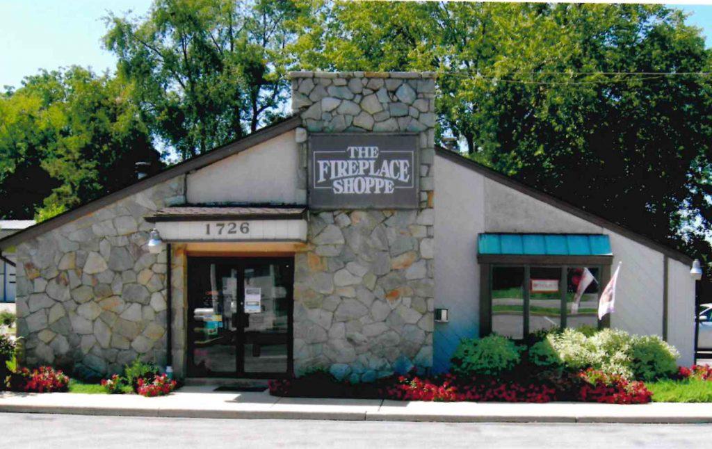 Fireplace Shop building_front door